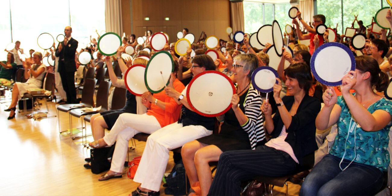 Circle Drumming Gruppenspaß