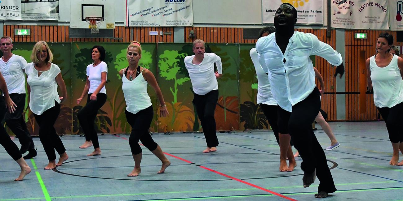 Afrikanischer Tanz Trommeln