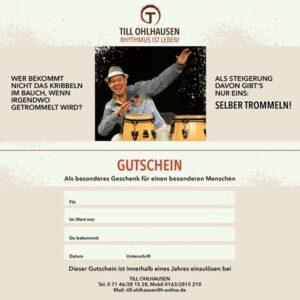 Gutschein Till Ohlhausen